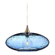 unusual pendant lighting. Lunar Pendant Light No. 952, Steel Blue, Brushed Unusual Pendant Lighting F