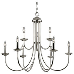 Transitional Chandeliers by Zeckos