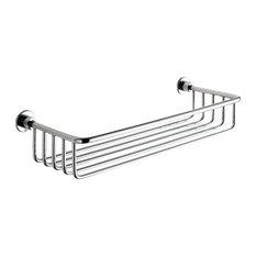 Nameeks   Chrome Wire Bath Basket   Shower Caddies