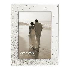 "Nambé  Dazzle Frame, 5""x7"""