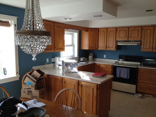 Vineyard Farmhouse Kitchen Before And After