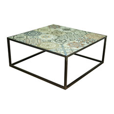 Decorative Tile Border Tile Coffee Tables Houzz