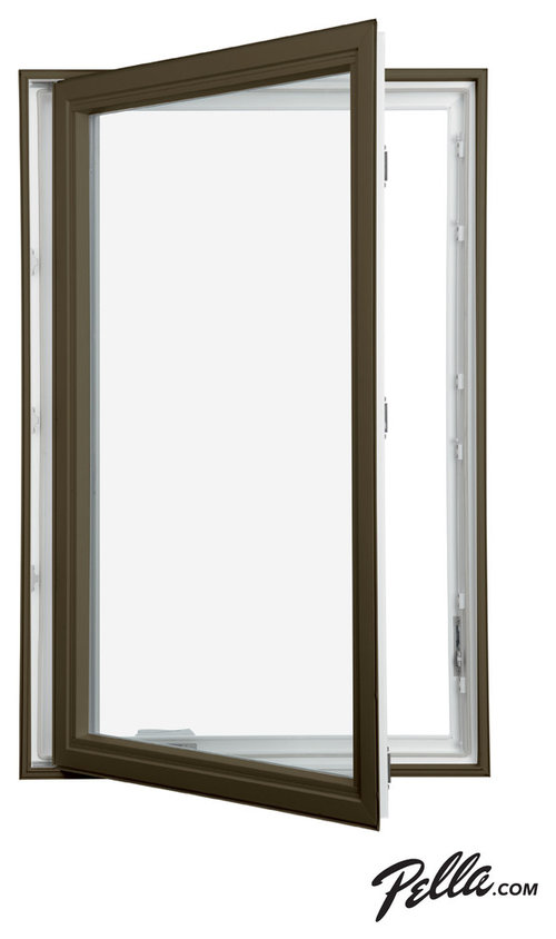 Pella 350 Series Vinyl Dual Color Cat Window More Info