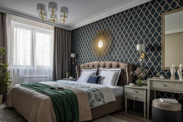 Современный Спальня by Евгения Анненкова