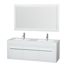 Delighted Spa Inspired Small Bathrooms Tall Painting Bathroom Vanity Pinterest Solid Bathroom Addition Ideas Wall Mounted Magnifying Bathroom Mirror With Lighted Youthful Lowes Bathroom Vanity Tops OrangeRebath Average Costs Best Bathroom Vanity 58 Inch Bathroom Vanities | Houzz