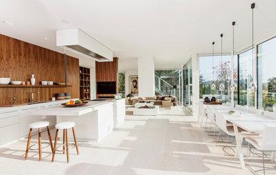 Houzzbesuch: Ein Glas-Penthouse mit immergrüner Dachterrasse