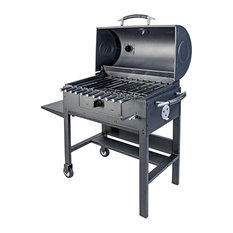 Kabob Charcoal Grill, Barbecue, Smoker With Automatic Rotisserie