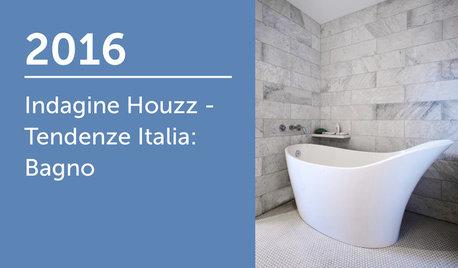 Indagine Houzz - Tendenze Italia 2016: Bagno
