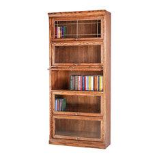 Traditional Oak Lawyers Bookcase (3 Doors)