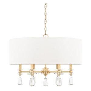 Capital Lighting Milan Capital Gold Pendant