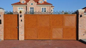 Ворота и балюстрады для частного дома