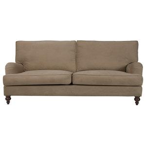 Kent T-Cushion Sofa, Sand, 4-Seater