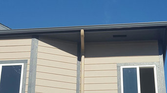 Stone Gray New Gutters