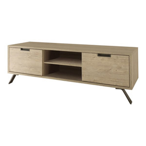 Parma TV Stand, Light Oak