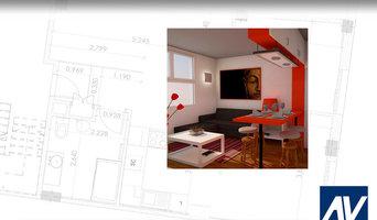 Orange Mind. reforma y cambio de uso de local en vivienda