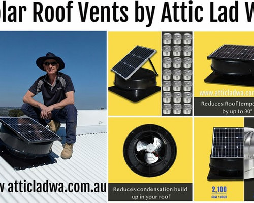 Solar roof vents Perth by Attic Lad WA - Products