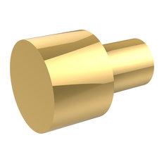"5/8"" Cabinet Knob, Polished Brass"