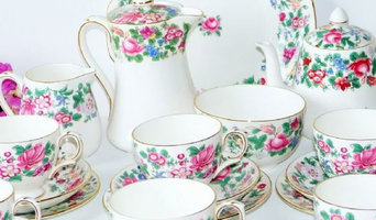 Vintage tea sets Royal Stafford Thousand Flowers