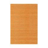 Ranger Orange Rectangle Plain/Nearly Plain Rug 100x150cm