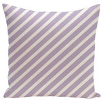 "E by Design - Zebra Stripe Decorative Pillow, 16""x16"" - Decorate and personalize your home with pillows that embody color and style, from E by Design."