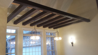 Exposed Faux- Beams