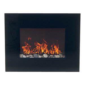 Gel Fuel Wall Mount Fireplace Modern Indoor Fireplaces By Jr