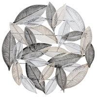Metallic Leaves Wall Decor