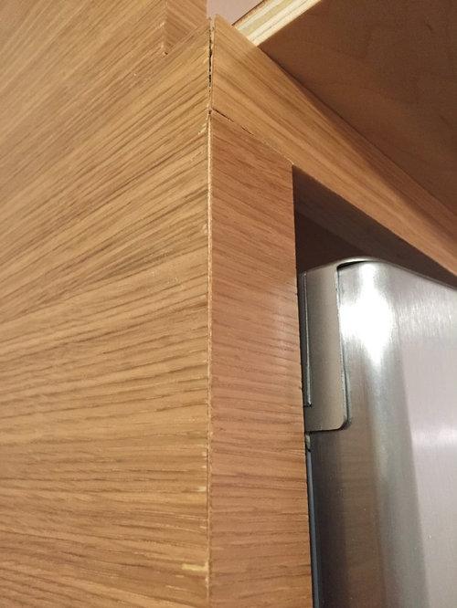 More Rift Oak Veneer Cabinet Concerns