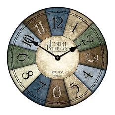 "Le Belle Wall Clock, 18"""