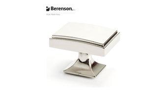 4142-1014-P  Polished Nickel Knob by Berenson Hardware