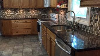 Tan Brown Kitchen Remodel