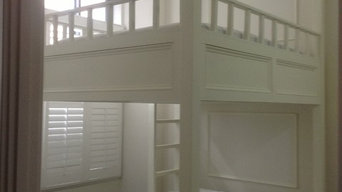 Custom Designed and Built Queen Size Bunk Bed