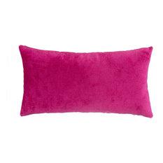 Magenta Velvet Pillow
