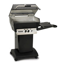 Broilmaster Propane Grill & Base Package with Electronic Ignition, Black