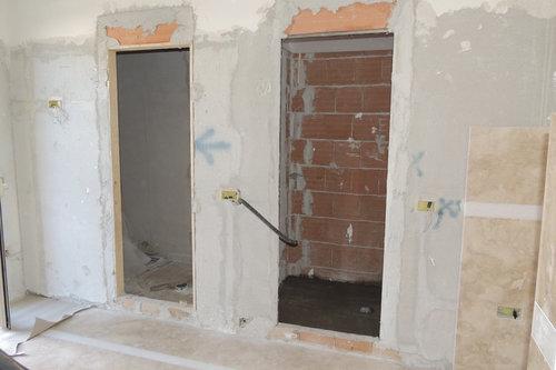 Come rivestire la parete che ospita il bagno turco e la sauna?