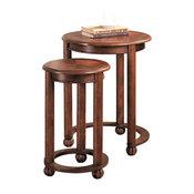 Coaster 2-Piece Round Nesting Tables