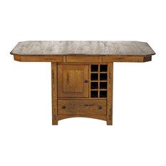 A-America Laurelhurst 66-inch Rectangular Gathering Height Wine Storage Table