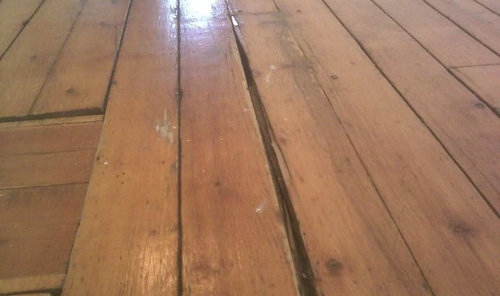 Refinishing 100 Yr Old White Pine Floor