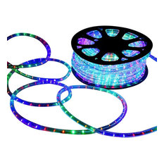 DELight 150' 2-Wire LED Rope Light Holiday Decor Indoor/Outdoor, Rgb