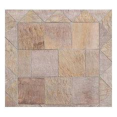 Milano Pink Leather Light Sandstone, Tile