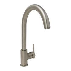 Single Handle Kitchen Faucet, Brushed Nickel