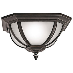 Traditional Outdoor Flush-mount Ceiling Lighting by Kichler