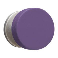 ModKnobs Purple Puck Doorknob Set, Privacy