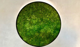 Moss Green Wall By Atmosphy