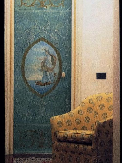 Porte Decorate A Mano. Top Porte Interne Rovere Sbiancato ...