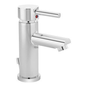 Dia Single Handle Round Faucet, Chrome