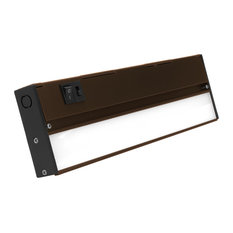 NUC-5 Series Selectable LED Under Cabinet Light, Oil Rubbed Bronze, 12.5