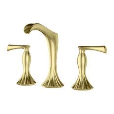 Pfister LG49RH1 Rhen 1.2 GPM Waterfall Widespread Bathroom Faucet - Brushed