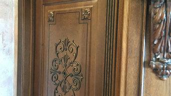 Классические двери из массива дуба