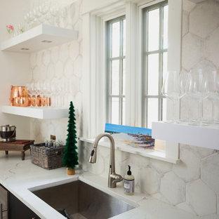 Milano in White Lacatto & Pecky Cypress in Grayton Beach, FL